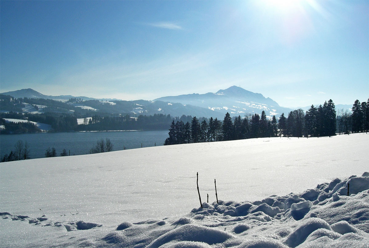 Sulzberger See im Winter